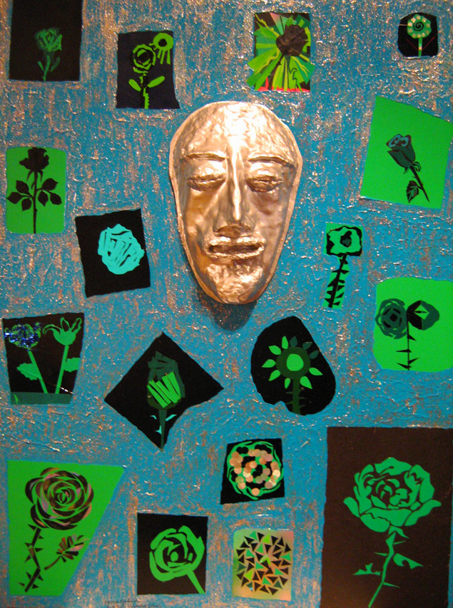 """""""Don't Trust Unknown Face"""" 2008 (80x60 cm)"""