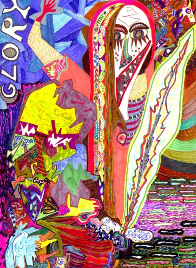 """Glory"" 2003 (40x30 cm)"