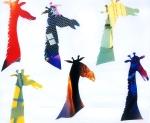 """""""Melange Of Giraffe"""" 2003 (30x30 cm)"""