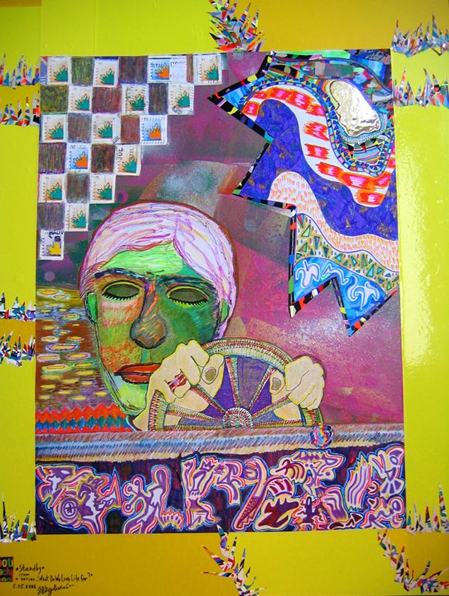 """Standby"" 2006 (40x30 cm)"