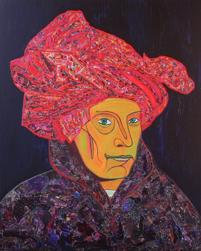 Man In a Red Turban 2018