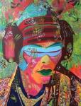 Rammellzee. The Cosmic Samurai 2015