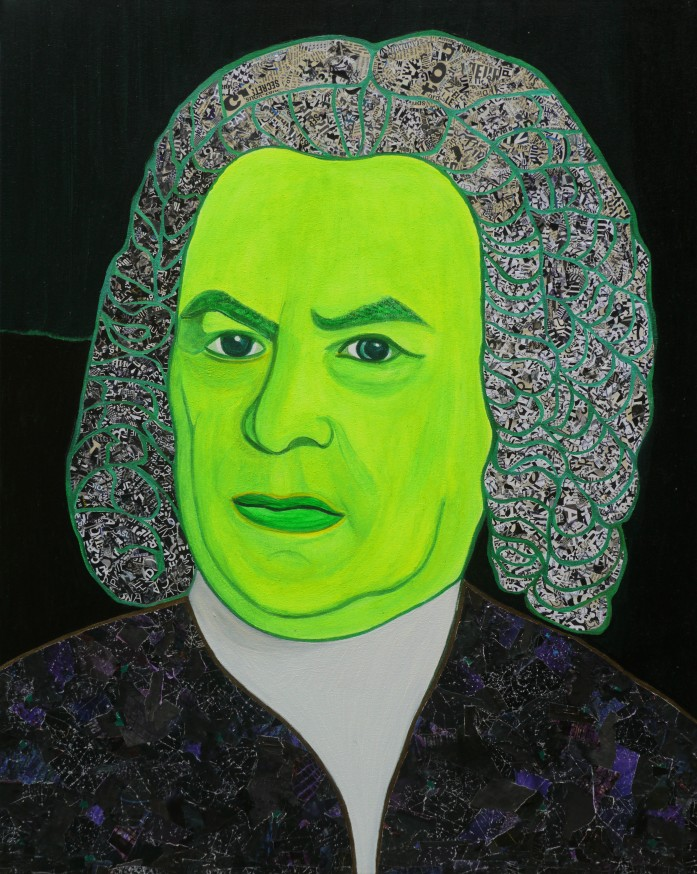 Portrait of Johann Sebastian Bach 2020
